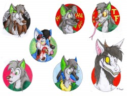 Transformation badges|by Danwolf