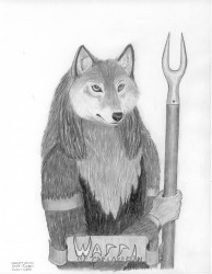 Warri of the Lake Clan|by AncientWolf
