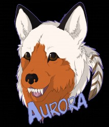 Aurora Badge|by IndiWolf