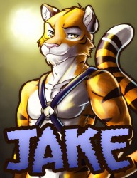 RF Badge Commission for Jaketiggy|by mel_fluff
