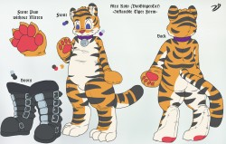 DatGingerCat - Inflatable Version sheet|by Stormdragonblue