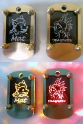 LED Tags|by dragonien