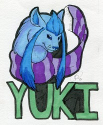 Yuki the Glaceon|by VenuShade