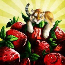 strawberry tiger ~|by shynjy