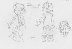 Zack Casey - 20120830 Model Sheet (WIP)|by Zc456