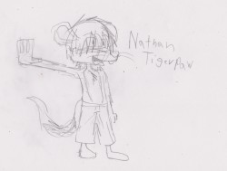 Nathan Tigerpaw - 20121001 WIP|by Zc456