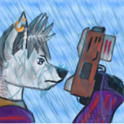 Its raining...again|by GulidTheWolf