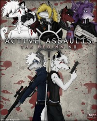 Active Assaults Promo Art|by raphial