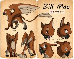 Zill Mae Character Sheet|by Tuke