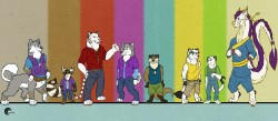 Time to Line up|by crazyhusky