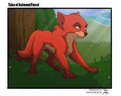 Fox from Tales of Ashwood Forest|by Felix Tile the cat