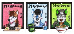 Conbadges 2012|by Danwolf