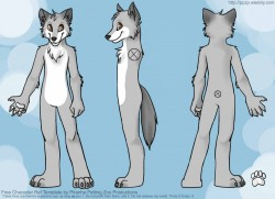 (old) James Wuffy Ref Sheet|by jwuffy