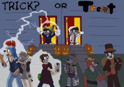 Trick or Treat|by Kit Ulf