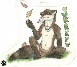 Oklacon 2012 Badge|by Skreft