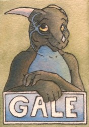 Gale Badge|by KairoTheDragon