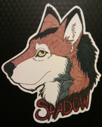 Shadowpack - Badge|by IndiWolf