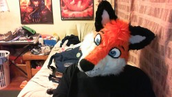 Rockit Fursuit head finished|by Rockit Fox