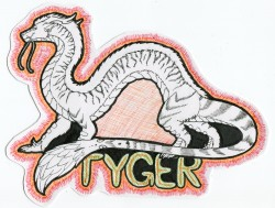Tyger Badge|by VenuShade