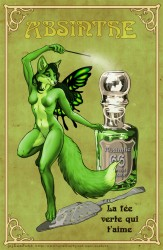 Absinthe fairy|by EosFoxx