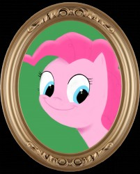 Pinkie Pie got framed.|by Jabbajay