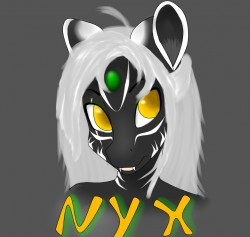 nyx badge|by Nyx Tiga