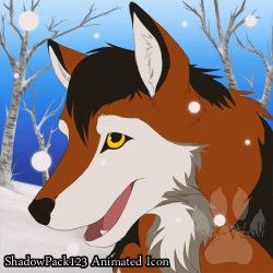 Shadowpack123 - Animated Icon|by IndiWolf