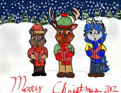Deerdigger and Friends Caroling|by deerdigger