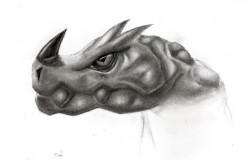Dragon Portrait 4|by CaptainEllipsis
