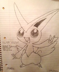 Victini|by SoniaStrummFan217