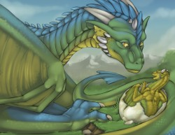 Hatching Dragons|by Tojo-the-Thief