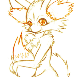 A wild Fennekin appears|by TehZee