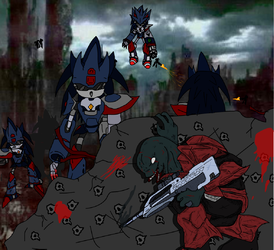 The Mecha Sonic War