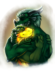 warmth of a hug (by neodokuro)|by Jathiros