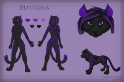 Reference Sheet - Buttons|by Hakuwolf