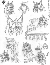 Lone Sketch Dump|by jeany545