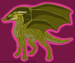 Twig The Caltin Western Dragon|by Killerwolf1020