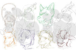 free sketches batch 2|by ObsceneOblivion