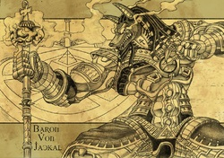 Baron Von Jackal Fantasy Knight Armor Commission|by baronvonjackal