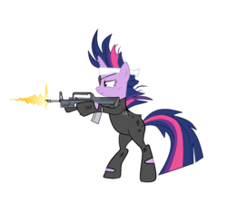 MLP:FiM Firepower is Magic - Future Twilight|by A1C havenofimage