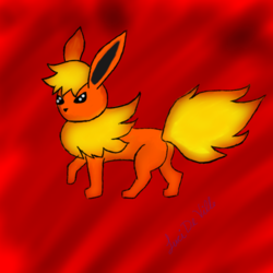 Flareon|by LuciDeVille