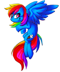 Rainbow Dash|by Phosphorii