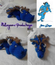 custom fursona plushie (zorion dragon)|by bellamoora