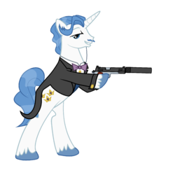 MLP:FiM Firepower is Magic - Fancypants|by A1C havenofimage