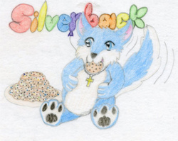 Silverback Christianpaw Badge #5|by Silverback_CP