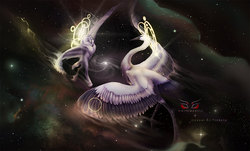 Collab: Dance of Gods|by WhiteMantis