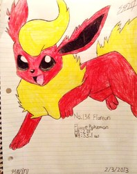 Color Flareon|by SoniaStrummFan217