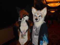 Kaiya and Kyousuke at Furry Fiesta|by Of The Wilds