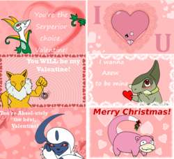 Pokemon Valentines|by Shoki