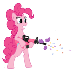 MLP:FiM Firepower is Magic - Pinkie Pie|by A1C havenofimage
